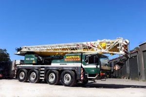 80 Tonne Mobile Crane